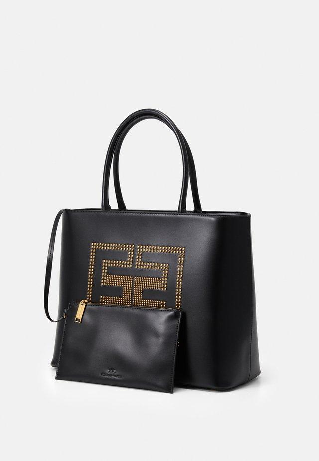 LOGO TOTE SET - Tote bag - nero