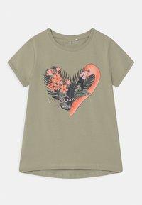 Name it - NKFVIX 2 PACK - Print T-shirt - peach whip - 2