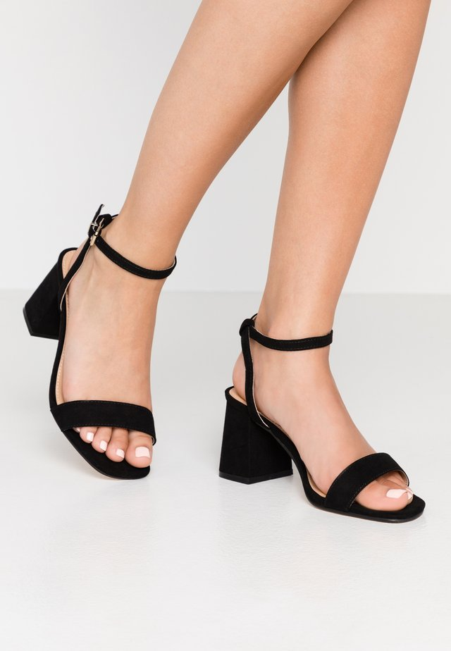 MILLIONS WIDE FIT - Sandals - black