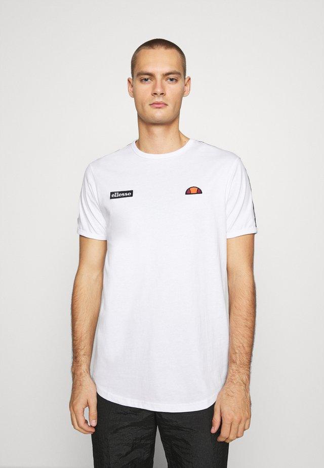FEDORA - Camiseta estampada - white