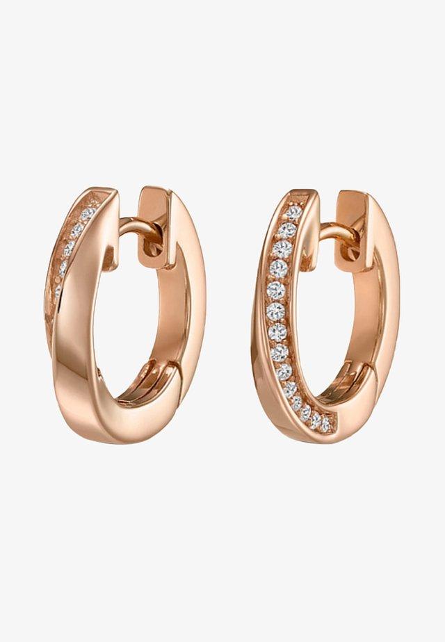 Earrings - light pink