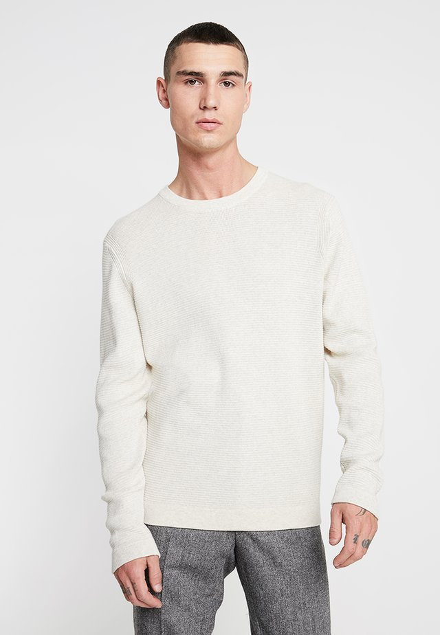 JULIAN - Pullover - light khaki melange