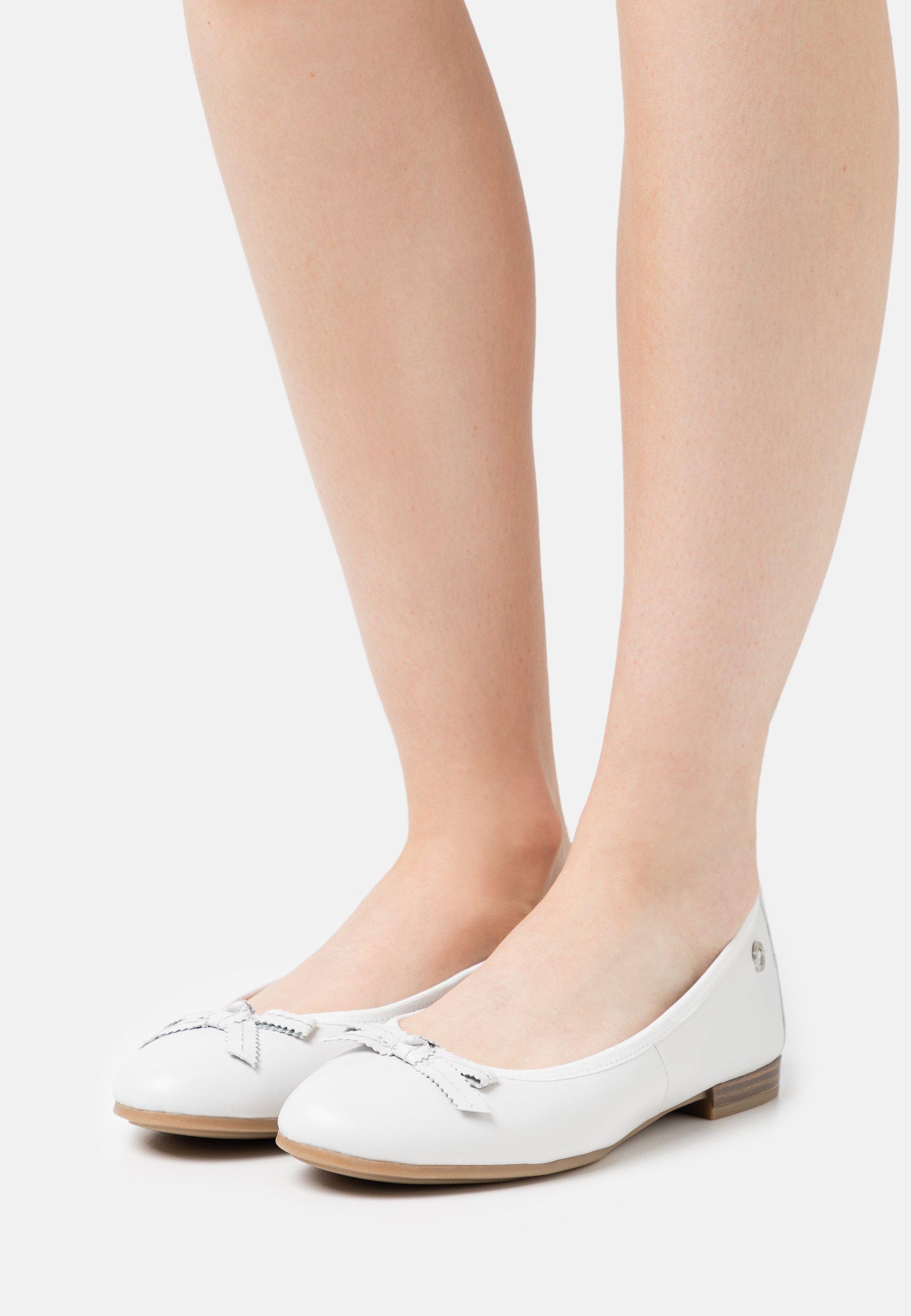 Femme Ballerines - white