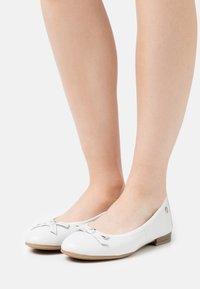 s.Oliver - Ballerinat - white - 0