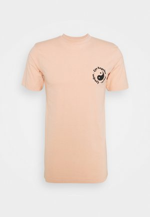 CITY PRINT TEE UNISEX - T-shirt con stampa - pale pink