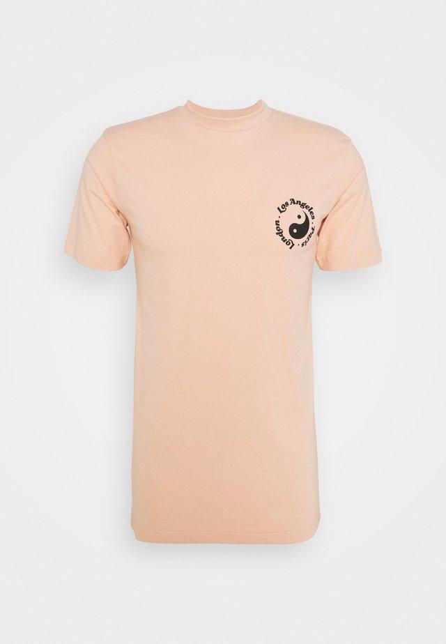 CITY PRINT TEE UNISEX - T-shirt print - pale pink