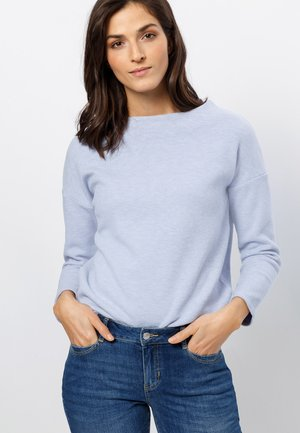 Sweatshirt - soft blue melange