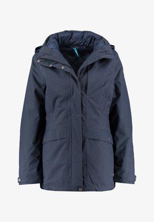 2 IN 1 - Outdoor jacket - dark blue