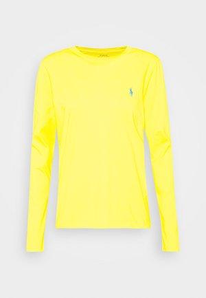 T-shirt à manches longues - university yellow