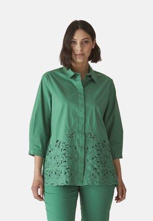 Button-down blouse - verde