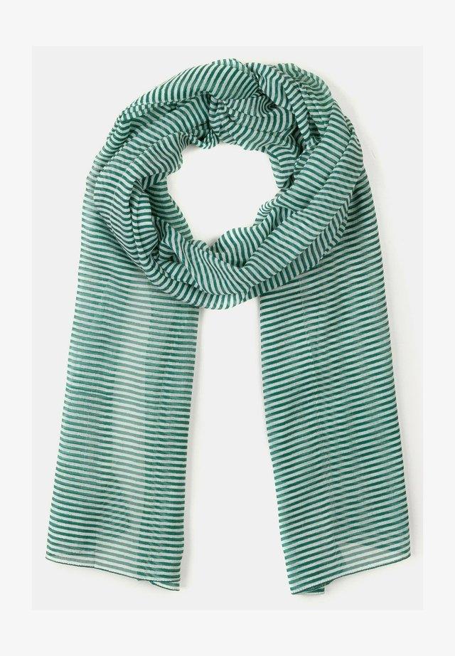 Sjaal - smaragdgrün