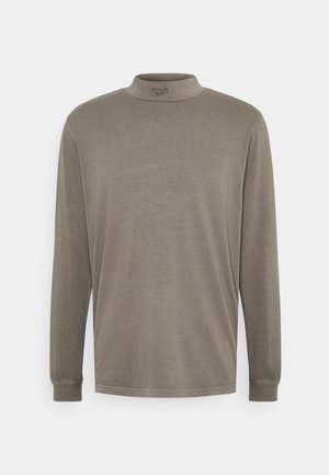 MOCK TEE - Long sleeved top - trek grey