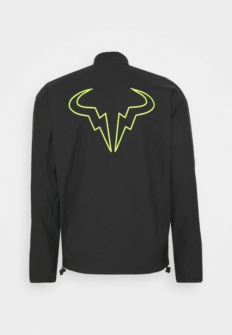 Nike Performance Rafael Nadal Jacket Training Jacket Black Volt Zalando Co Uk