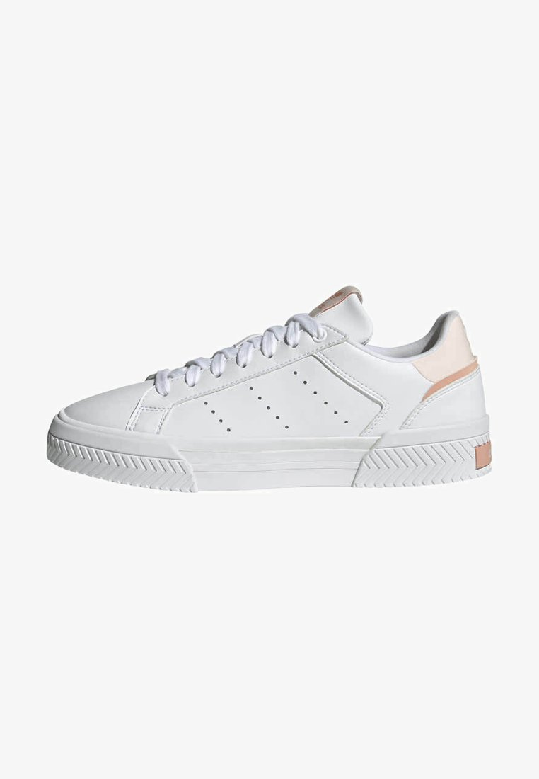adidas Originals - COURT TOURINO W - Sneakersy niskie - white