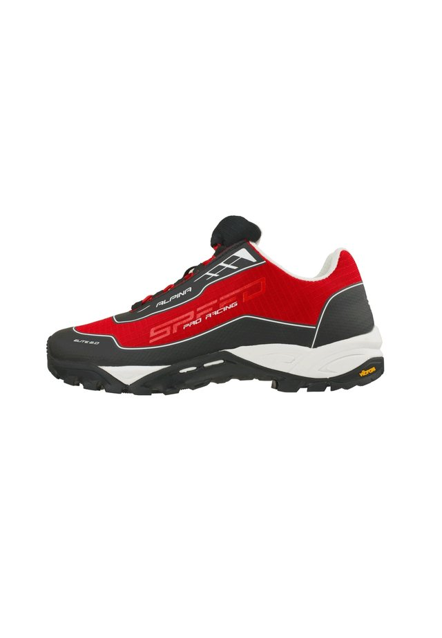 ALPINA - Hiking shoes - rood-meerkleurig