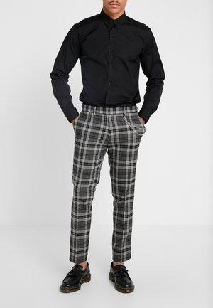 CHARCOAL TARTAN  - Kalhoty - grey