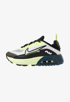 AIR MAX 2090 UNISEX - Sneakersy niskie - white/black/volt/blue force