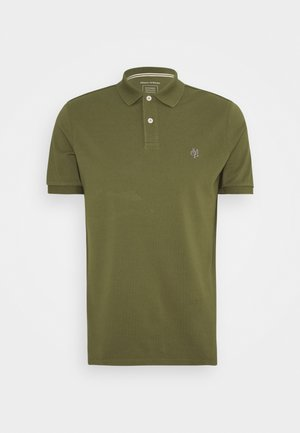 SHORT SLEEVE BUTTON - Polo shirt - khaki