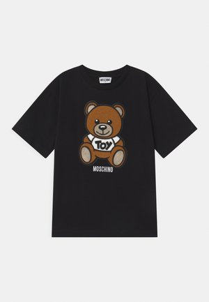 MAXI UNISEX - T-shirt con stampa - black