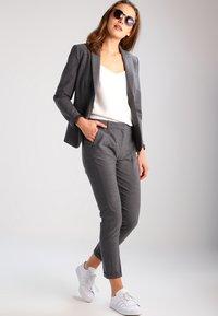 Karen by Simonsen - SYDNEY  - Trousers - grey melange - 1
