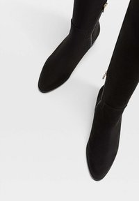 Stradivarius - Over-the-knee boots - black - 3