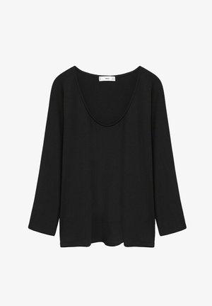 CAMILA - T-shirt à manches longues - zwart