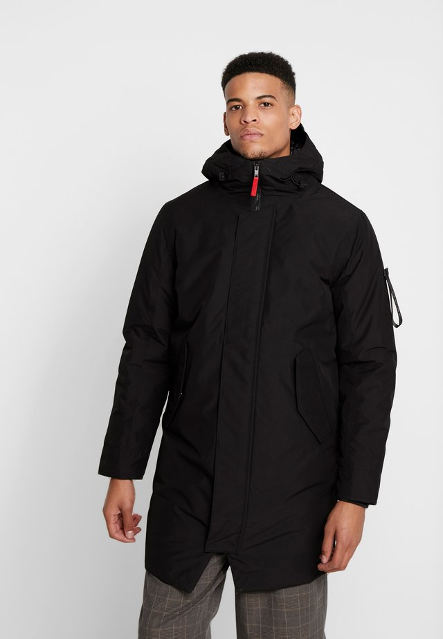 GUNTER - Parka - black