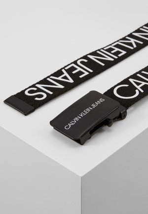 LOGO BELT UNISEX - Riem - black