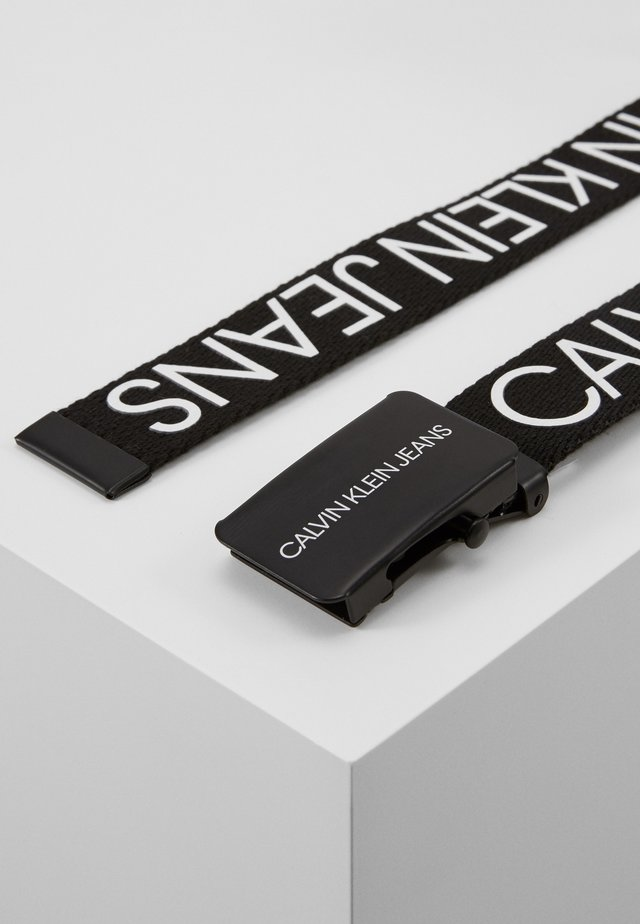 LOGO BELT UNISEX - Belt - black