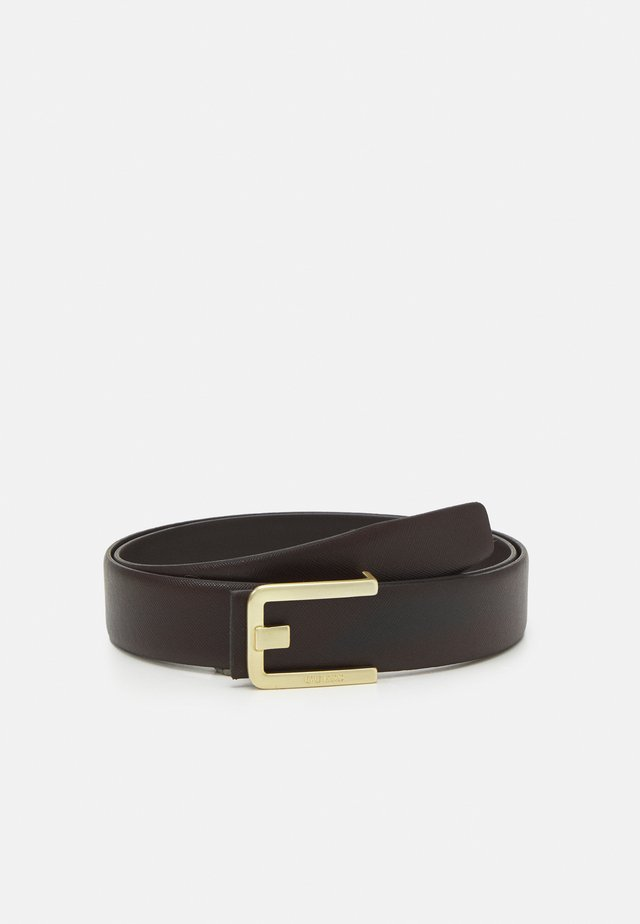 BELT - Pásek - dark brown