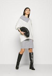 Anna Field - Jumper dress - mottled grey - 1