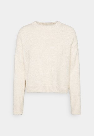 FLUFFY - Jumper - white