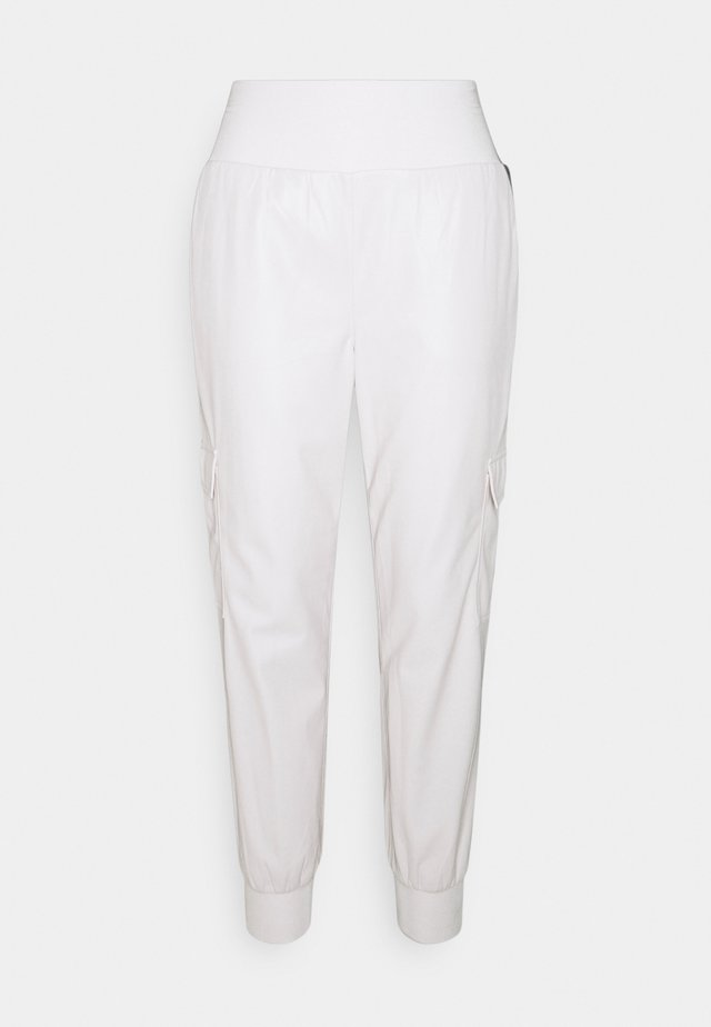 GILES PANT - Cargo trousers - ivory