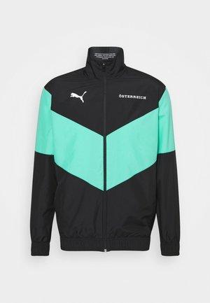 ÖFB PREMATCH JACKET - Training jacket - black/blue turquoise