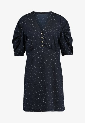 EVE - Vestido informal - navy/cream