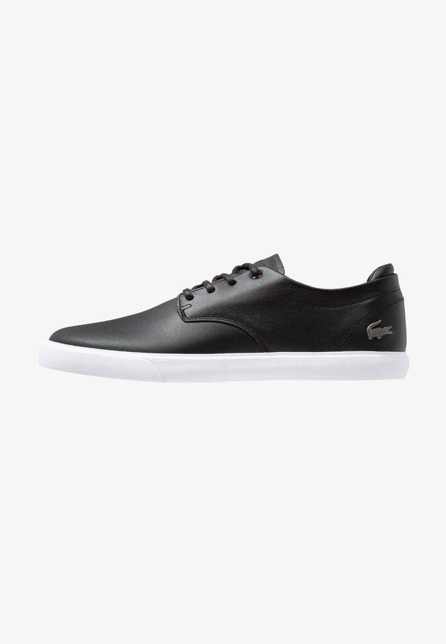ESPARRE - Sneakersy niskie - black