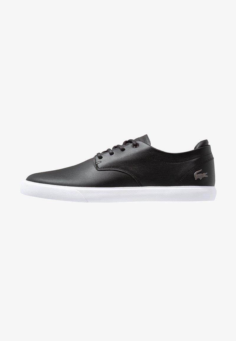 Lacoste - ESPARRE - Sneakersy niskie - black