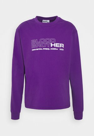 UNISEX MIDWAY TEE - Long sleeved top - african violet