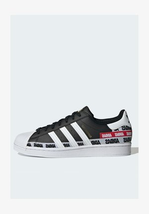 SUPERSTAR SHOES - Sneakers laag - black