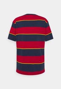 Nike SB - TEE STRIPE UNISEX - Print T-shirt - midnight navy - 1