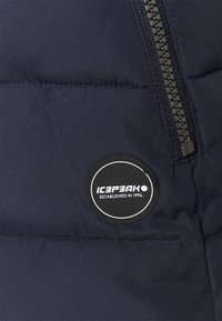 Icepeak - PETALUMA - Waistcoat - dark blue - 3