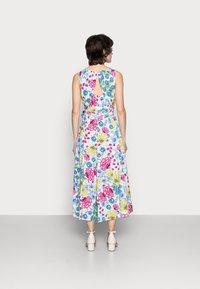 Thought - TABITHA TIE WAIST FLARE DRESS - Day dress - white - 2