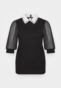 Morgan - T-shirt print - noir - 5