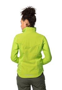 Jack Wolfskin - DELTA TOUR JKT W - Soft shell jacket - bright lime - 1