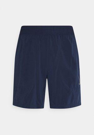 SHORT - Pantaloncini sportivi - midnight navy/gray