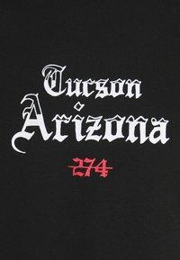 274 - CACTUS FLAME TEE - Print T-shirt - black - 5