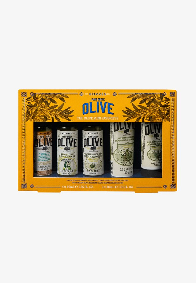 OLIVE FAVORITES TRAVEL SIZE SET - Kropsplejesæt - -