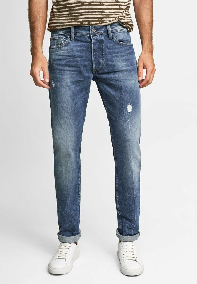 LIMA - Jeans Tapered Fit - blau