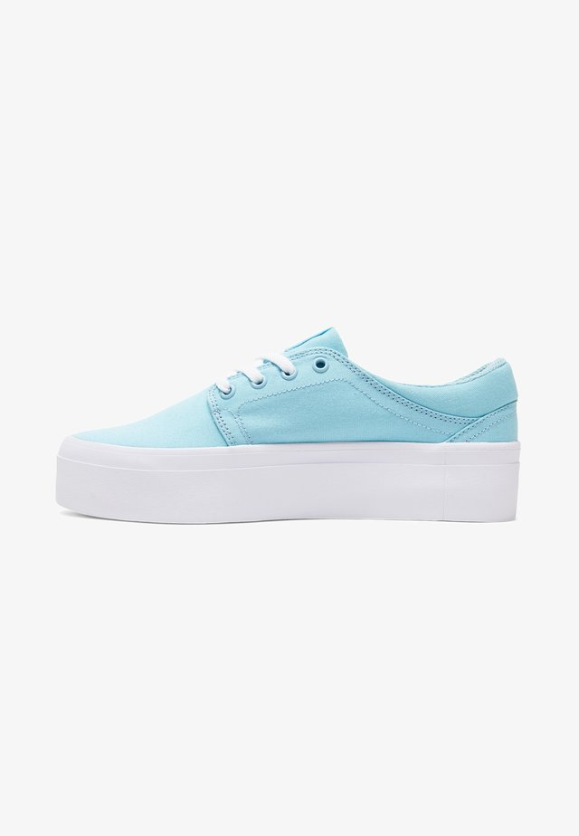 TRASE PLATFORM TX - Trainers - light blue