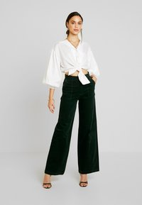 Pepe Jeans - MAYA - Trousers - forest green - 2